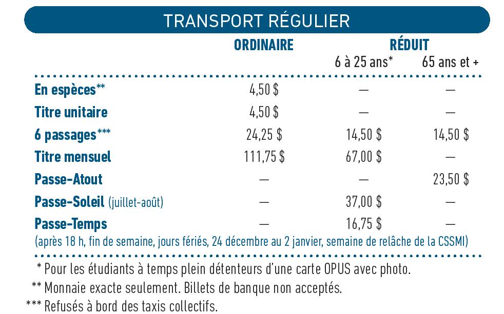 tarification2016
